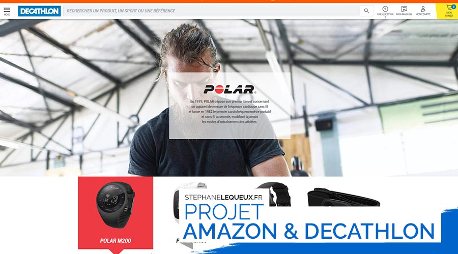 Amazon & Decathlon